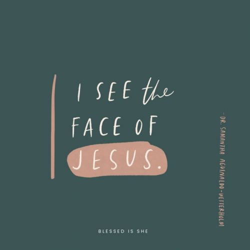 Recognizing the Face of Jesus
