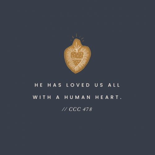 catechism of the catholic church sacred heart of jesus