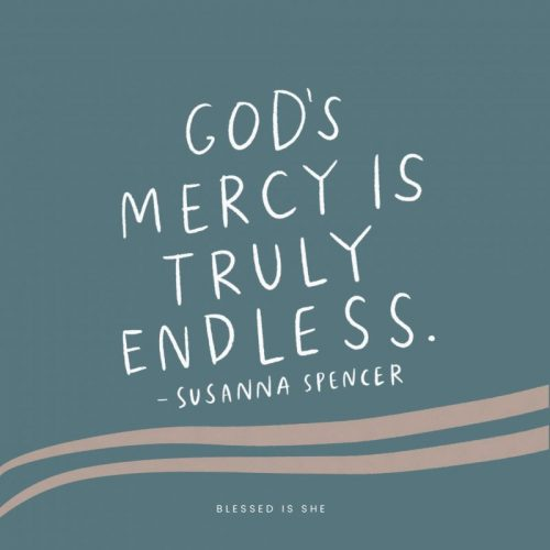 His Endless Mercy