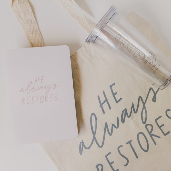restore retreat swag bag